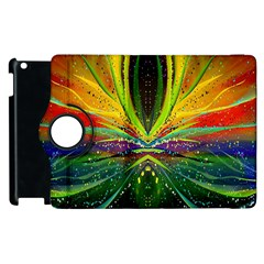 Future Abstract Desktop Wallpaper Apple Ipad 3/4 Flip 360 Case by Simbadda
