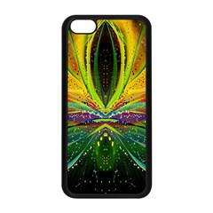 Future Abstract Desktop Wallpaper Apple Iphone 5c Seamless Case (black) by Simbadda
