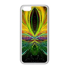 Future Abstract Desktop Wallpaper Apple Iphone 5c Seamless Case (white) by Simbadda