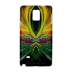 Future Abstract Desktop Wallpaper Samsung Galaxy Note 4 Hardshell Case by Simbadda