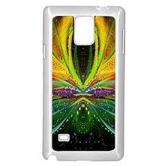 Future Abstract Desktop Wallpaper Samsung Galaxy Note 4 Case (white) by Simbadda