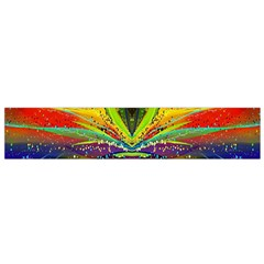 Future Abstract Desktop Wallpaper Flano Scarf (Small)