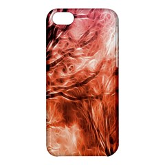 Fire In The Forest Artistic Reproduction Of A Forest Photo Apple Iphone 5c Hardshell Case by Simbadda