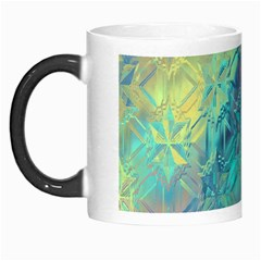 Colorful Patterned Glass Texture Background Morph Mugs by Simbadda