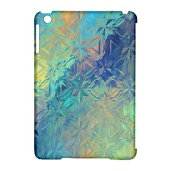 Colorful Patterned Glass Texture Background Apple Ipad Mini Hardshell Case (compatible With Smart Cover) by Simbadda