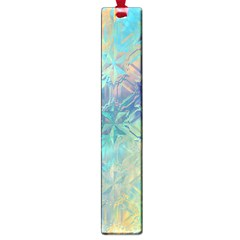 Colorful Patterned Glass Texture Background Large Book Marks by Simbadda