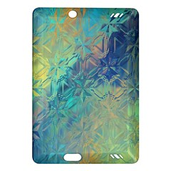Colorful Patterned Glass Texture Background Amazon Kindle Fire Hd (2013) Hardshell Case by Simbadda