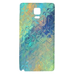 Colorful Patterned Glass Texture Background Galaxy Note 4 Back Case by Simbadda