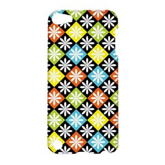 Diamond Argyle Pattern Colorful Diamonds On Argyle Style Apple Ipod Touch 5 Hardshell Case by Simbadda