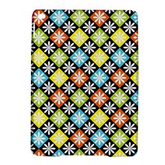 Diamond Argyle Pattern Colorful Diamonds On Argyle Style Ipad Air 2 Hardshell Cases by Simbadda