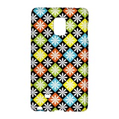 Diamond Argyle Pattern Colorful Diamonds On Argyle Style Galaxy Note Edge by Simbadda