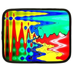 Bright Colours Abstract Netbook Case (xl)  by Simbadda