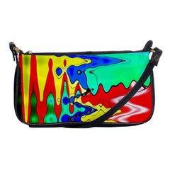 Bright Colours Abstract Shoulder Clutch Bags by Simbadda