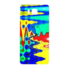 Bright Colours Abstract Samsung Galaxy Alpha Hardshell Back Case by Simbadda