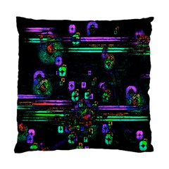 Digital Painting Colorful Colors Light Standard Cushion Case (one Side) by Simbadda