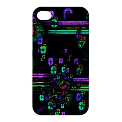 Digital Painting Colorful Colors Light Apple Iphone 4/4s Hardshell Case by Simbadda