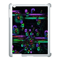 Digital Painting Colorful Colors Light Apple Ipad 3/4 Case (white) by Simbadda