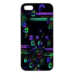 Digital Painting Colorful Colors Light Iphone 5s/ Se Premium Hardshell Case by Simbadda