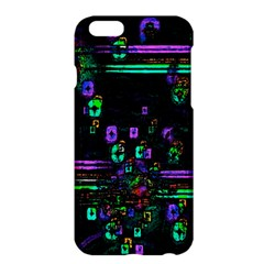 Digital Painting Colorful Colors Light Apple Iphone 6 Plus/6s Plus Hardshell Case by Simbadda
