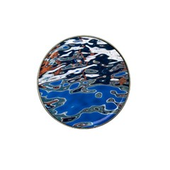 Colorful Reflections In Water Hat Clip Ball Marker (4 Pack) by Simbadda