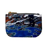 Colorful Reflections In Water Mini Coin Purses Front