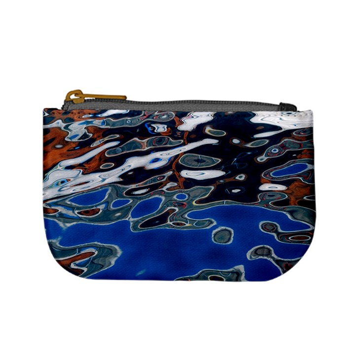 Colorful Reflections In Water Mini Coin Purses