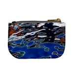 Colorful Reflections In Water Mini Coin Purses Back