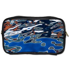 Colorful Reflections In Water Toiletries Bags 2 Side by Simbadda