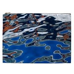 Colorful Reflections In Water Cosmetic Bag (xxl)  by Simbadda