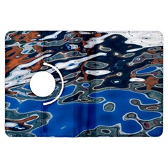 Colorful Reflections In Water Kindle Fire HDX Flip 360 Case by Simbadda