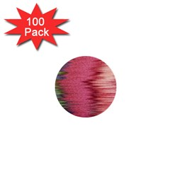 Rectangle Abstract Background In Pink Hues 1  Mini Buttons (100 Pack)  by Simbadda