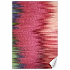 Rectangle Abstract Background In Pink Hues Canvas 24  X 36  by Simbadda