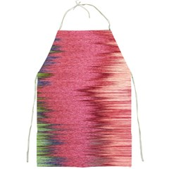 Rectangle Abstract Background In Pink Hues Full Print Aprons by Simbadda