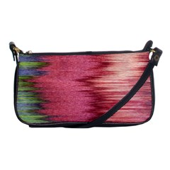 Rectangle Abstract Background In Pink Hues Shoulder Clutch Bags by Simbadda