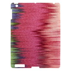 Rectangle Abstract Background In Pink Hues Apple Ipad 3/4 Hardshell Case by Simbadda