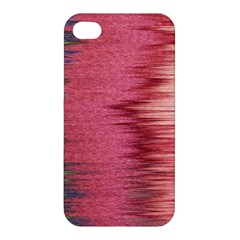 Rectangle Abstract Background In Pink Hues Apple Iphone 4/4s Premium Hardshell Case by Simbadda