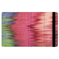 Rectangle Abstract Background In Pink Hues Apple Ipad 2 Flip Case by Simbadda
