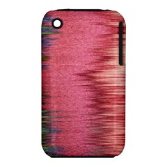 Rectangle Abstract Background In Pink Hues Iphone 3s/3gs by Simbadda