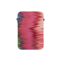 Rectangle Abstract Background In Pink Hues Apple Ipad Mini Protective Soft Cases by Simbadda