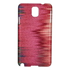 Rectangle Abstract Background In Pink Hues Samsung Galaxy Note 3 N9005 Hardshell Case by Simbadda