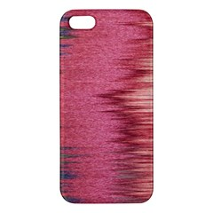 Rectangle Abstract Background In Pink Hues Iphone 5s/ Se Premium Hardshell Case by Simbadda