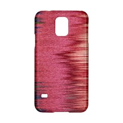 Rectangle Abstract Background In Pink Hues Samsung Galaxy S5 Hardshell Case  by Simbadda