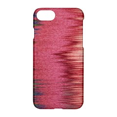 Rectangle Abstract Background In Pink Hues Apple Iphone 7 Hardshell Case by Simbadda