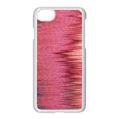 Rectangle Abstract Background In Pink Hues Apple Iphone 7 Seamless Case (white) by Simbadda