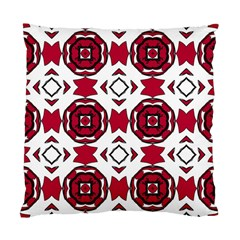 Seamless Abstract Pattern With Red Elements Background Standard Cushion Case (two Sides) by Simbadda