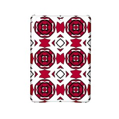 Seamless Abstract Pattern With Red Elements Background Ipad Mini 2 Hardshell Cases by Simbadda