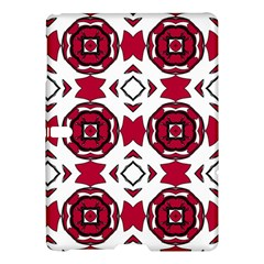 Seamless Abstract Pattern With Red Elements Background Samsung Galaxy Tab S (10 5 ) Hardshell Case  by Simbadda