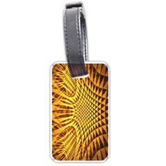 Patterned Wallpapers Luggage Tags (two Sides) by Simbadda
