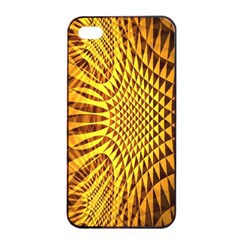Patterned Wallpapers Apple Iphone 4/4s Seamless Case (black) by Simbadda