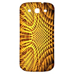 Patterned Wallpapers Samsung Galaxy S3 S Iii Classic Hardshell Back Case by Simbadda